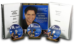 Frank Rossi's DVD Acting Series